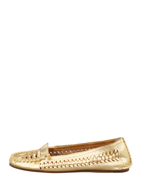 Nadia Woven Driver Moccasin