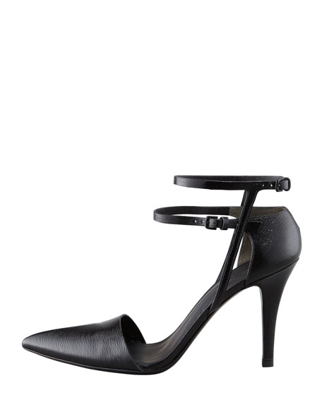 Emma Ankle-Strap Pump