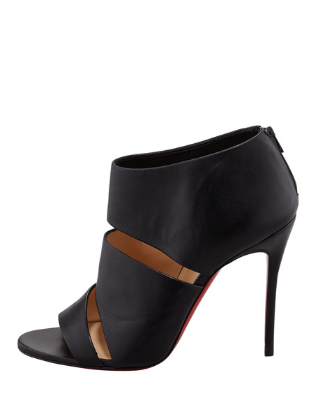 Cachottiere Cutout Red Sole Bootie
