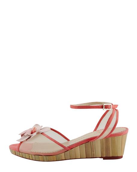 Florinha Bamboo-Wedge Sandal