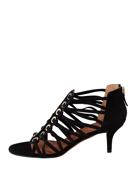 Cage Zip-Back Sandal