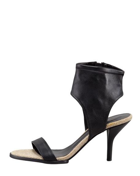Adria Ankle-Cuff Sandal, Luggage