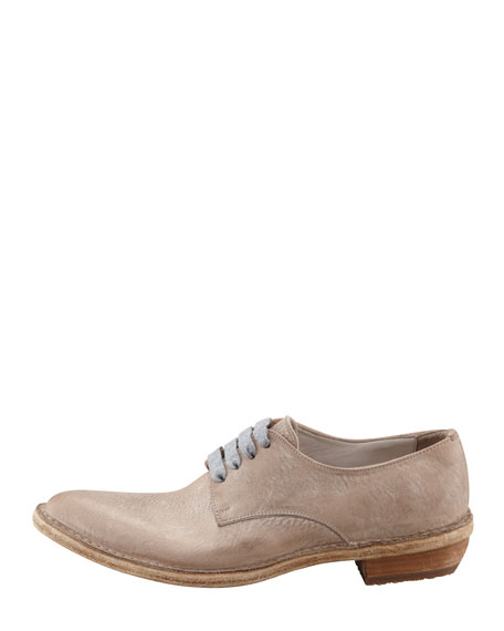 Western Style Oxford, Light Taupe