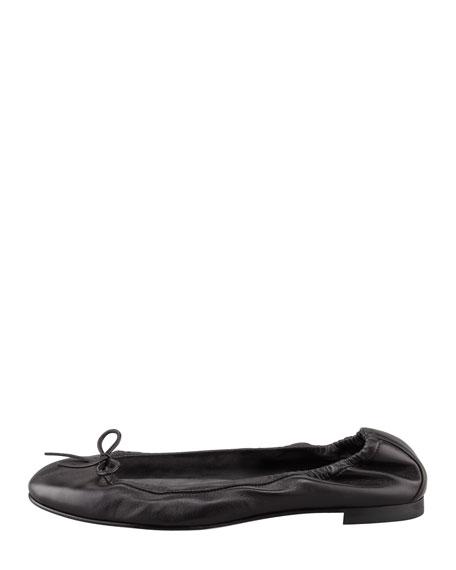 Tobaly Napa Ballerina Flat, Black