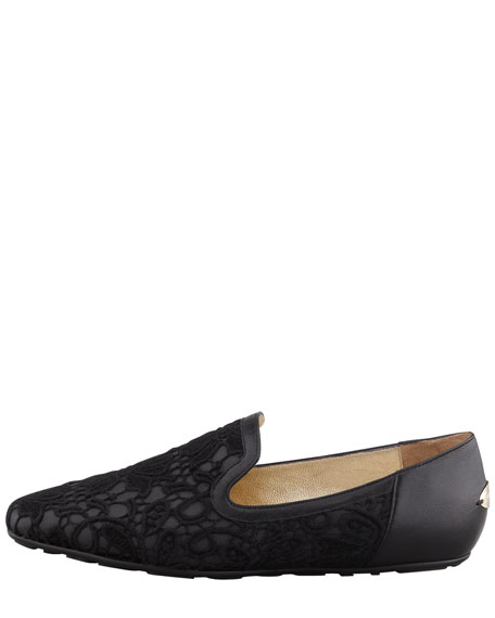Wheel Lace Weekend Loafer, Black