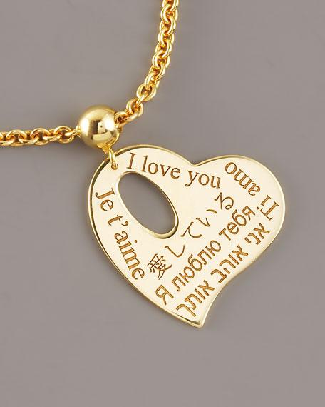 Heart Charm Love Bracelet