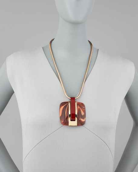 Abstract Deco Necklace
