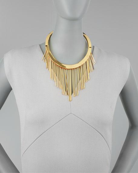 Tinsel Collar Necklace