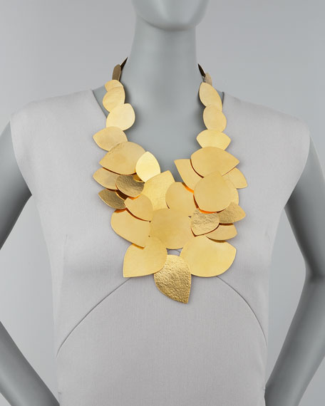 Leaf Cluster Necklace
