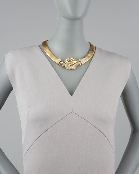 Love Me Knot Collar Necklace