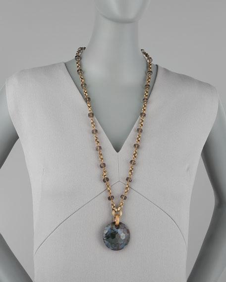 Ocean Jasper Medallion Necklace