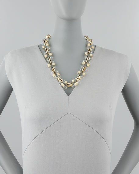 Lucite-Link Necklace