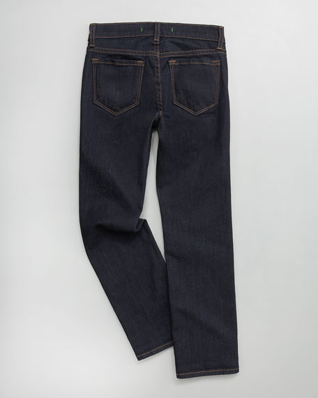 Straight-Leg Starless Stretch Jeans