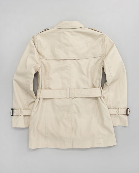 Mini Twill Trenchcoat