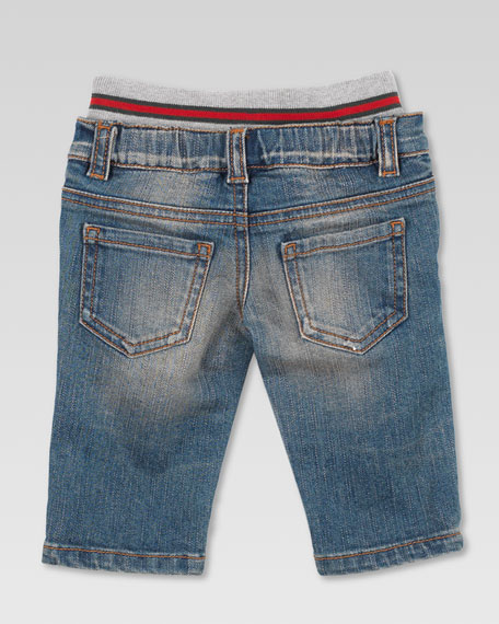 Web-Waist Jeans
