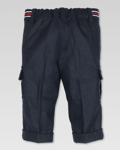 Flannel Cargo Pants