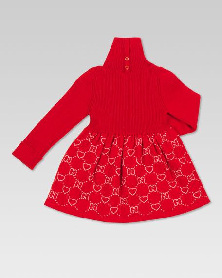 Merino Turtleneck Dress