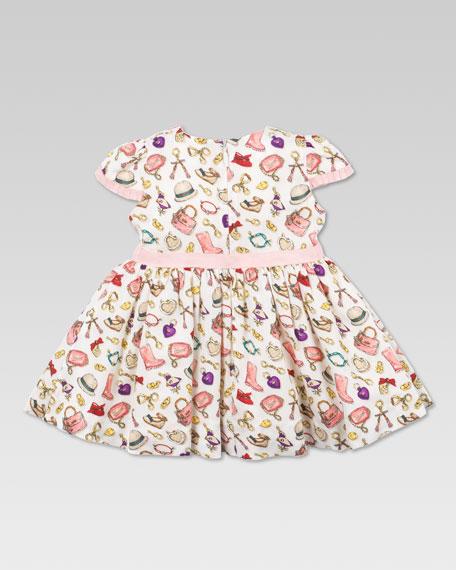 Charm-Print Dress