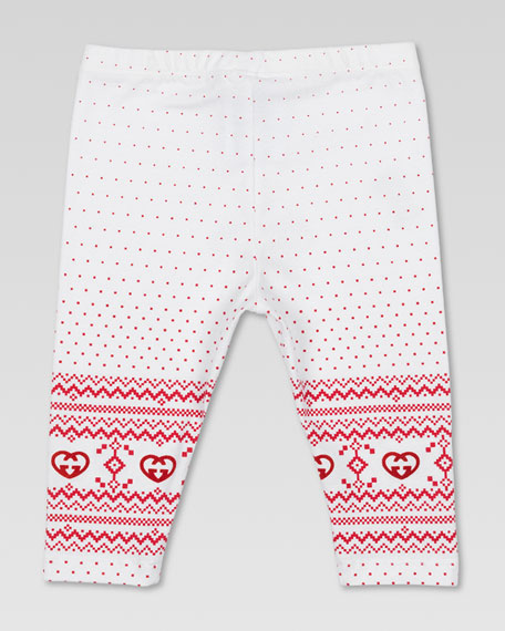 GG Heart Leggings