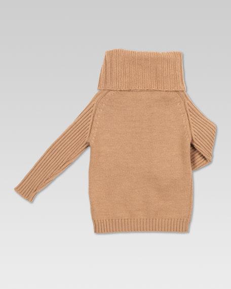 Extra-Fine Turtleneck Sweater, Beige