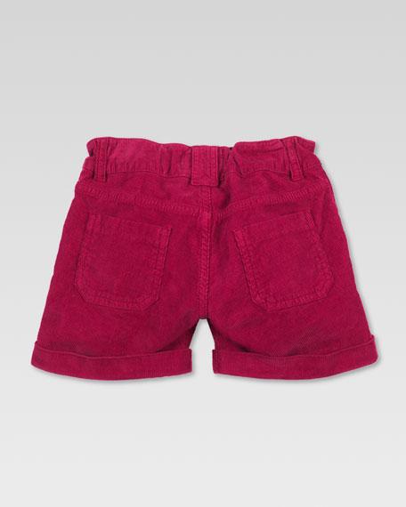 Velvet Corduroy Shorts