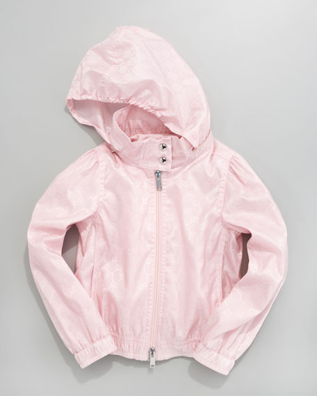 Waterproof Nylon Jacket, Candy Pink