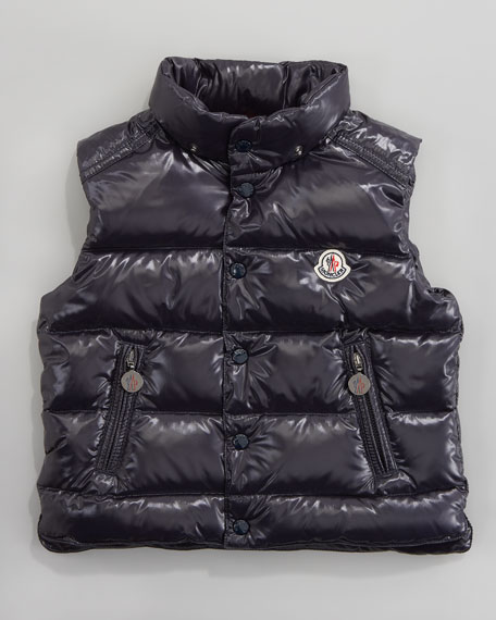 Theo Quilted Hooded Vest