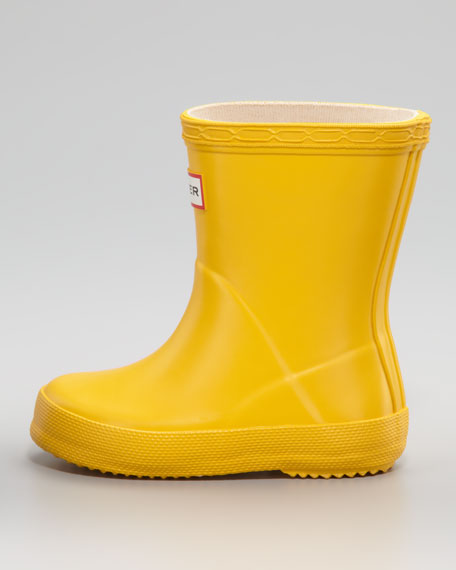 Kids First Wellie Boot, Yellow