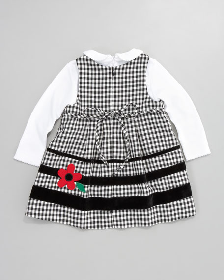 Panda and Poodle Party Dress