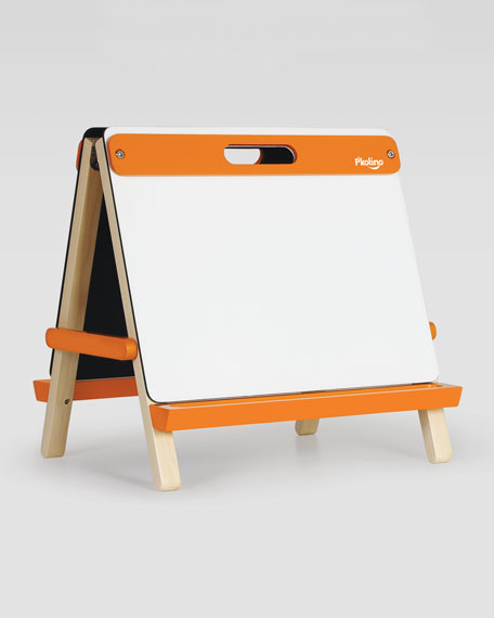 Playful, Double-Sided Table-Top Easel, Orange