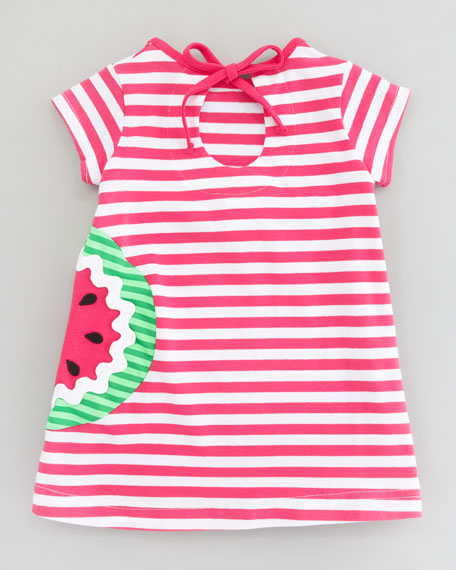 Watermelon Striped Knit Tunic & Leggings Set, 12-24 Months