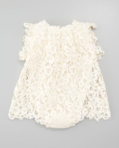 Lace Dress, Ivory, 3-24 mo.