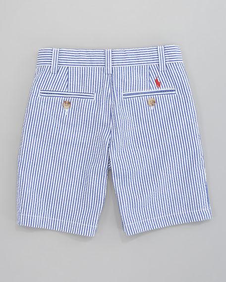 Preppy Seersucker Shorts