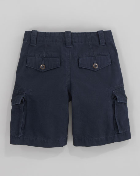 Canadian Aviator Navy Cargo Shorts, Sizes 2-7