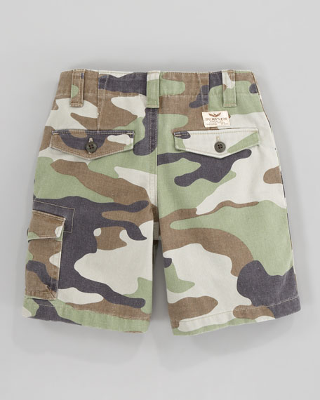 Corporal Camouflage Shorts, Sizes 2-7