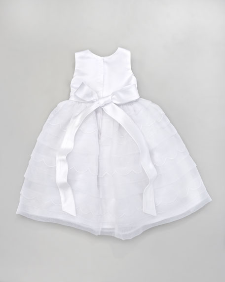 Scalloped Tea-Length Dress, 6-24 Months