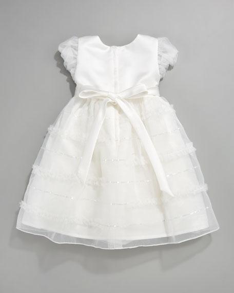 Tiered Organza Dress