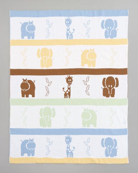 Jungle Knit Blanket