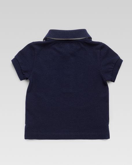 Short Sleeve Polo Shirt, Navy