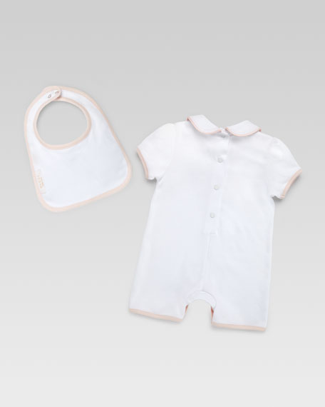 Gucci Cupcakes Playsuit & Bib Set
