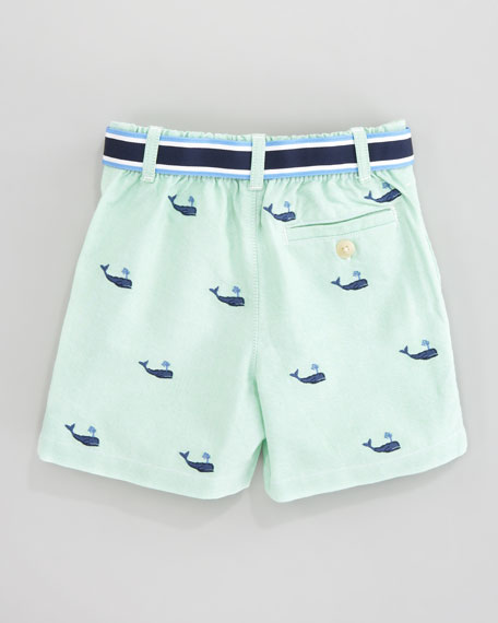 Schiffli Embroidered Shorts & Polo Set, 3-9 mo.