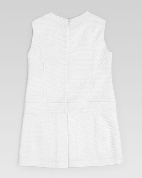 Cotton Pique Shift Dress