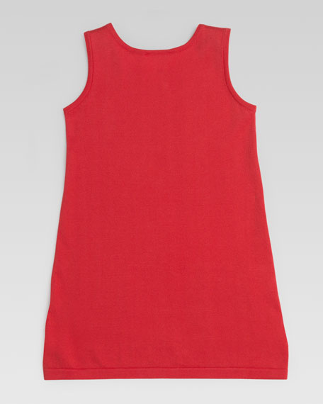 Fine Cotton Tank Dress, Watermelon