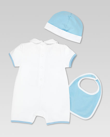 Gucci Teddy 3-Piece Gift Set, White/Light Blue