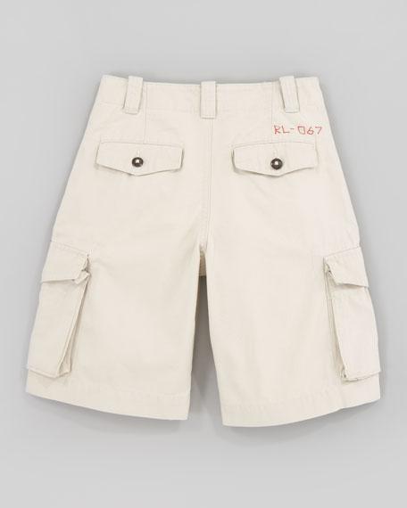 Canadian Basic Sand Cargo Shorts, Sizes 8-10