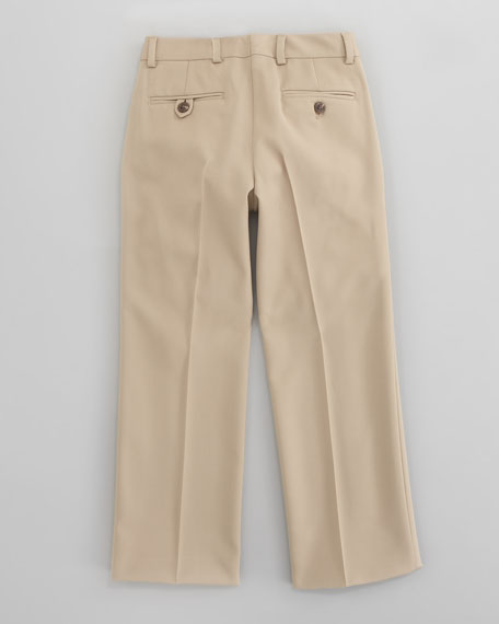Double Pleated Woodsman Trouser