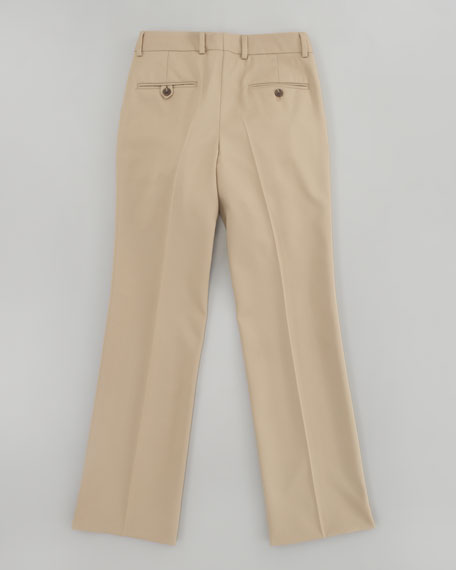 Double Pleated Woodsman Pants, Sizes 8-14