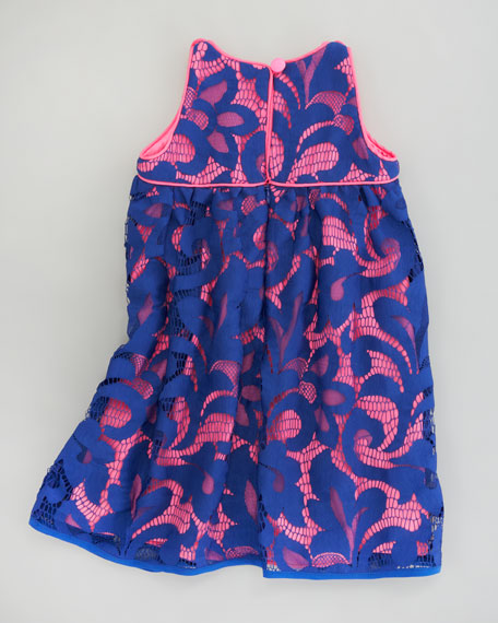 Magnolia Lace Twiggy Sleeveless Dress, Sizes 8-10
