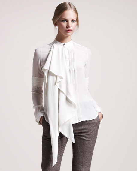 Ascot Georgette Blouse