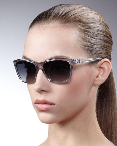Plastic Square Sunglasses